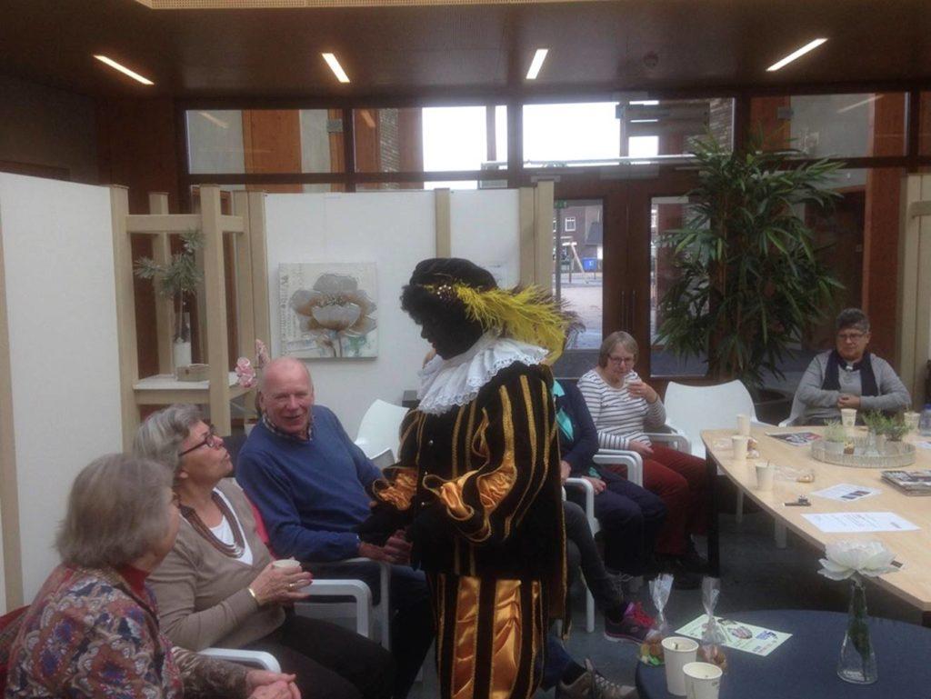 Sinterklaas, bezoek Zwarte Piet (Petra)