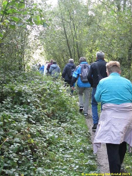 wandeling zaterdag 5 oktober