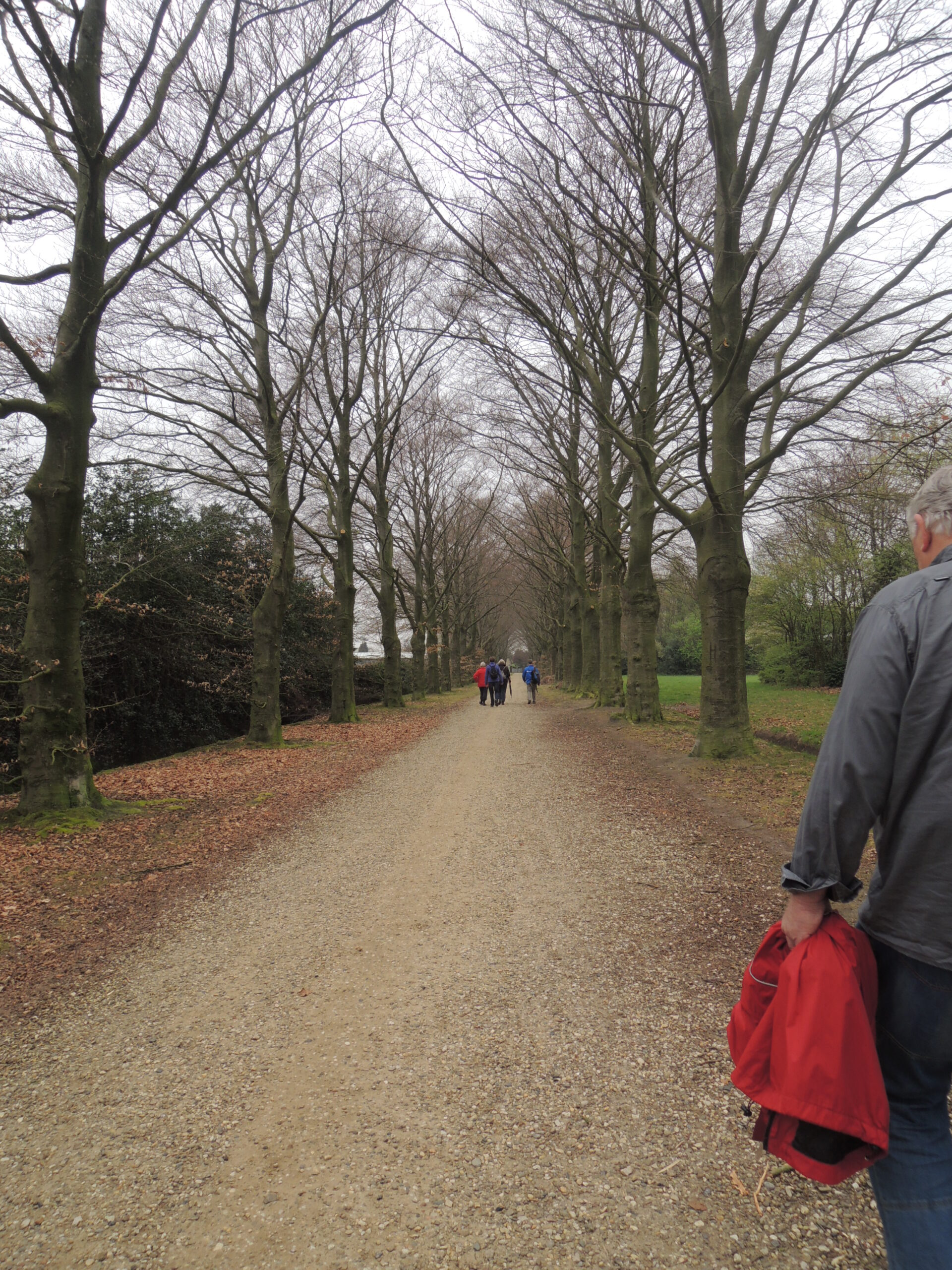 wandelgroep het kristal, april 2014
